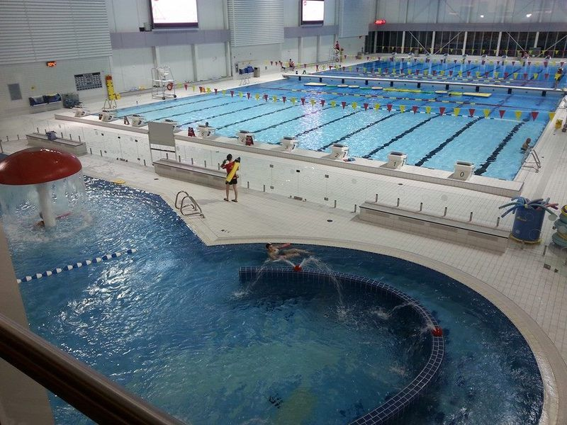 Piscine du peps de l 39 universit laval for Piscine universite laval